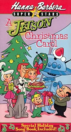 Hanna Barbera Christmas Dvd.Amazon Com Jetson Christmas Carol Vhs Movies Tv