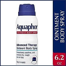 Aquaphor Ointment Body Spray – Moisturizes and Heals Dry, Rough Skin – 6.2 oz. Spray Can