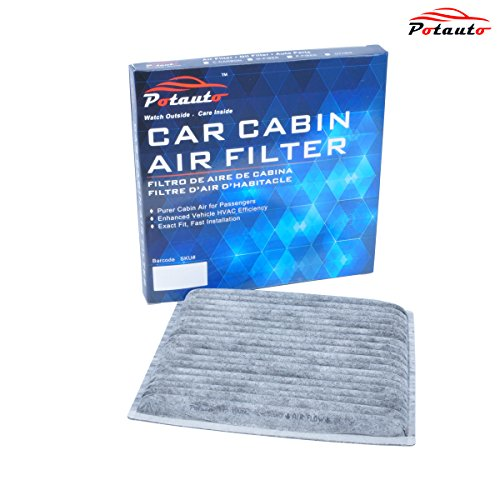 POTAUTO MAP 1006C Heavy Activated Carbon Car Cabin Air Filter Replacement compatible with Komatsu, Scion, TOYOTA Echo Rav4