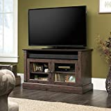 carson forge panel tv stand - Sauder Carson Forge Panel TV Stand in Coffee Oakj