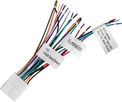 Amazon.com: 20-pin Headunit/Radio Wiring Harness with Steering Wheel Switch  Wires Compatible with 2007-2019 Nissan | Upgraded Version of The Metra  70-7552 | Harness Includes VSS and SWC pins: Car ElectronicsAmazon.com