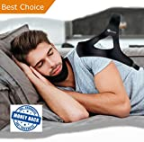 SNOREX™ Anti Snore Chin Strap - Stop Snoring Aid, Provides a Comfortable Sleep Solution as a Natural Support for The Jaw - Premium Adjustable Device Offering Relief for CPAP Mask Users
