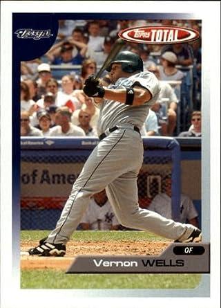 Amazoncom 2005 Topps Total Baseball Card 180 Vernon Wells