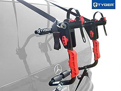 TYGER Deluxe Trunk Mount Bicycle Carrier Bike Rack.