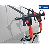 TYGER Deluxe Black 1-Bike Trunk Mount Bicycle Carrier Rack. (Fits most Sedans/Hatchbacks/Minivans and SUVs.)