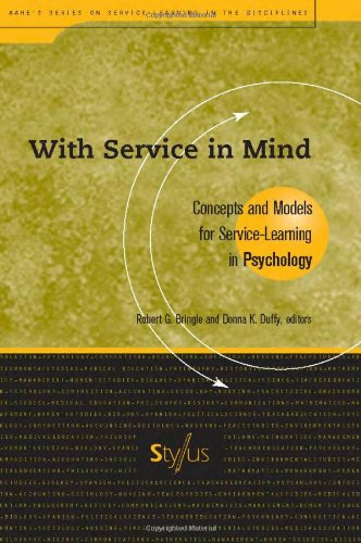 Reviews/Comments With Service Mind: Concepts and Models for Service-Learning Psychology (Service Learning the Disciplines Series)