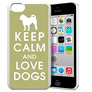 diy phone caseKeep Calm and Love Dogs Pattern HD Durable Hard Plastic Case Cover for iphone 6 4.7 inch Design By GXFC Casediy phone case