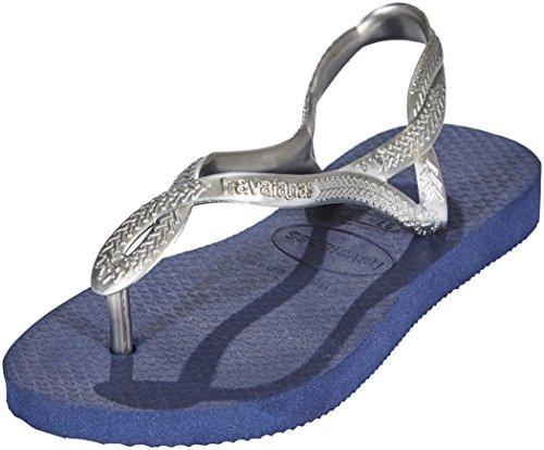 Havaianas Women's Luna Sandals silver - navy qIupNCNx