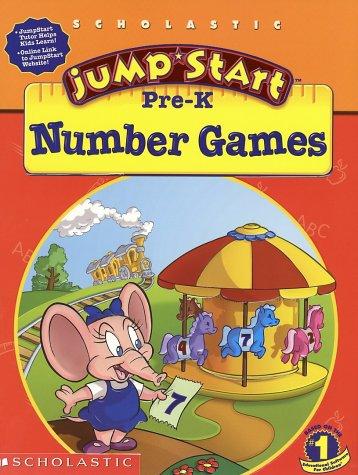 Jumpstart Pre-k: Number Games ebook