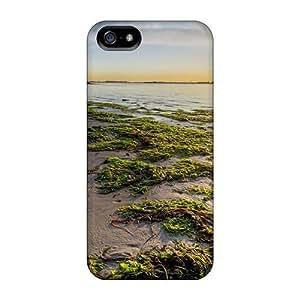New PC Hard Case Premium For SamSung Galaxy S5 Phone Case Cover Skin (seaweed Beach At Sunrise)