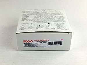 Dispositivos de detección de incendios CR 135 - 2 - Detector de calor 135 F Ror/fijo Temperatura: Amazon.es: Bricolaje y herramientas