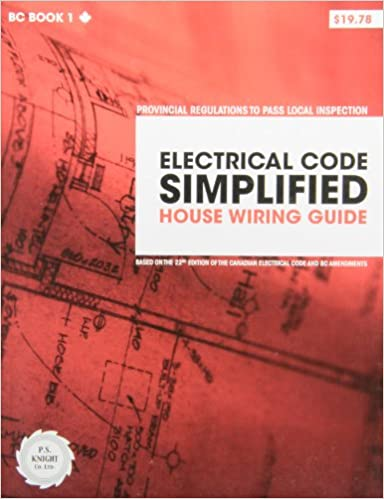 Marvelous Electrical Code Simplified House Wiring Guide 9780920312483 Wiring 101 Capemaxxcnl