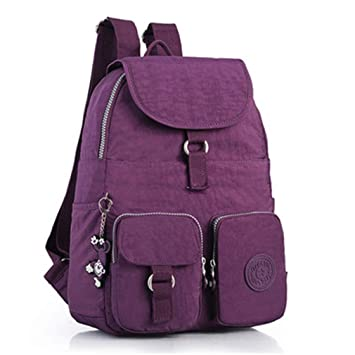 Amazon.com | Small Backpack Teenage Girls Mochila Feminina Waterproof Backpacks Women Pocket Daypack Travel Sac A Dos Color 2 30CMX13CMX35CM 1501 | Casual ...