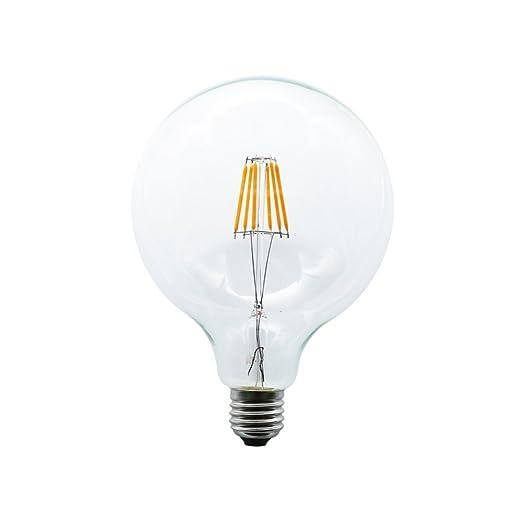 mengjay® 1 pieza G125 6 W 6 LED de Edison Bombilla de filamento blanco cálido