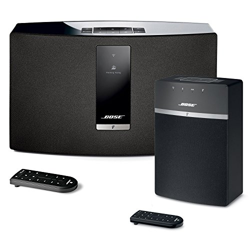 Price comparison product image Bose SoundTouch 20 and 10 Wireless Music System Bundle 2-Pack Black