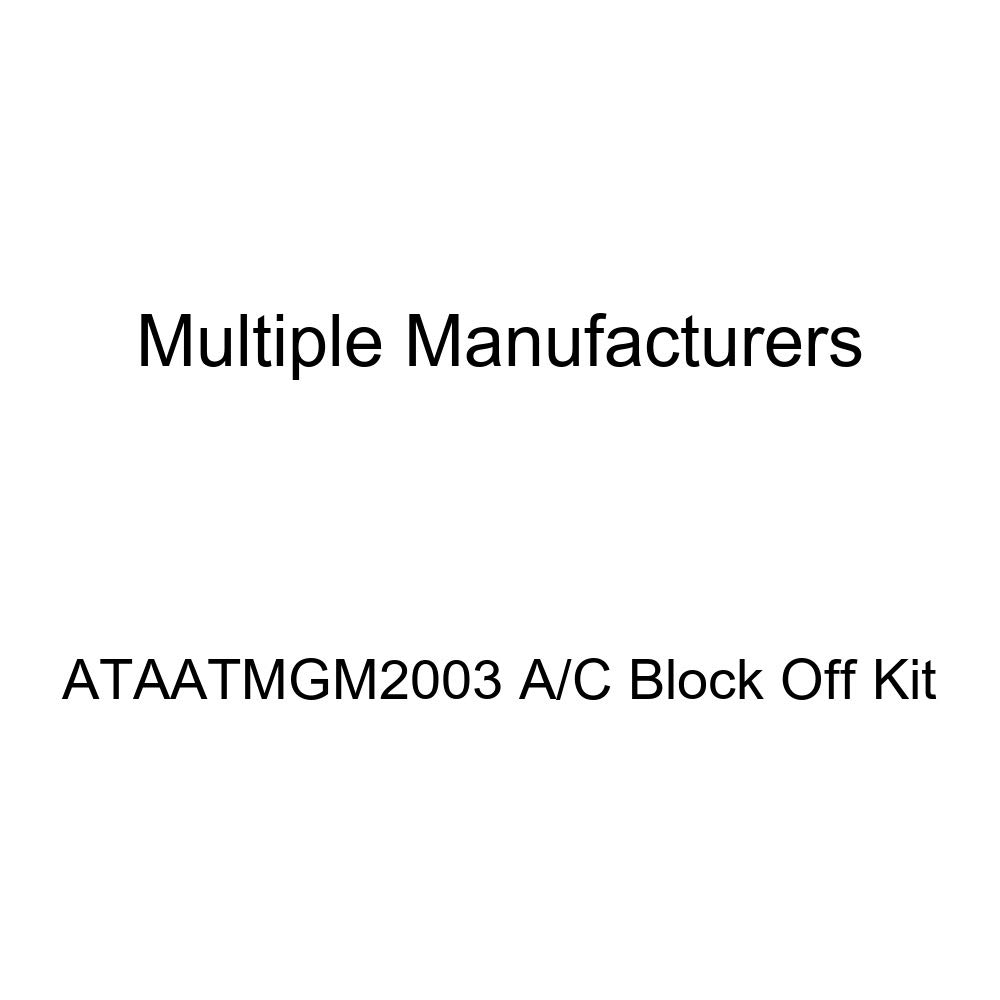 OE Replacement A//C Block Off Kit