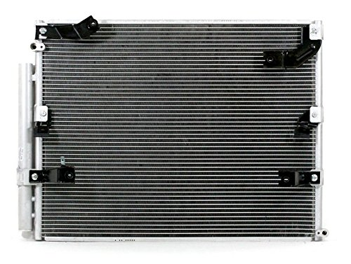 A-C Condenser - Pacific Best Inc For/Fit 3024 Oct'98-07 Toyota Land Cruiser Lexus LX470 WITH Dual A/C