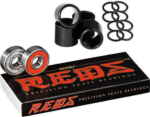 (Bones Bearings Reds Bearings Including Spacers & Washers)