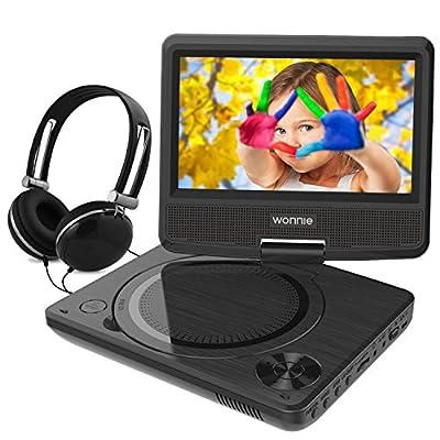 WONNIE Portbale DVD Player 7.5 inch