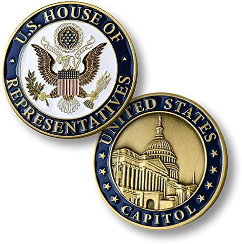 Us House Representative - U.S. House of Representatives U.S. Capitol Challenge Coin