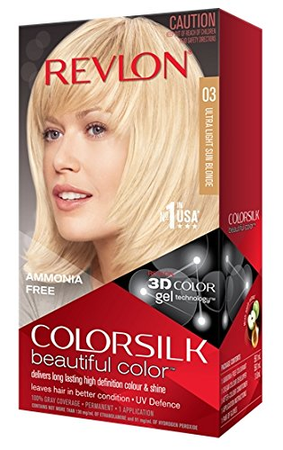 Revlon Colorsilk Haircolor, Ultra Light Sun Blonde, 10 Ounces (Pack of 3)