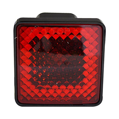 Ford Trailer Hitch Cover, Gmc Dodge Ram Hitch Cover With Brake Light - 2 Inch