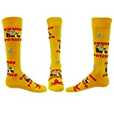 Red Lion Spud Novelty Knee High Sock Couch Potato Spud