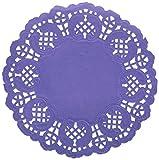 Arts & Crafts : Darice Lavender Paper Doilies, 50 Piece