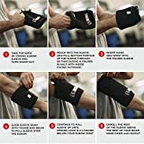 Sling Shot Mark Bell Strong Elbow Sleeves, Black, M
