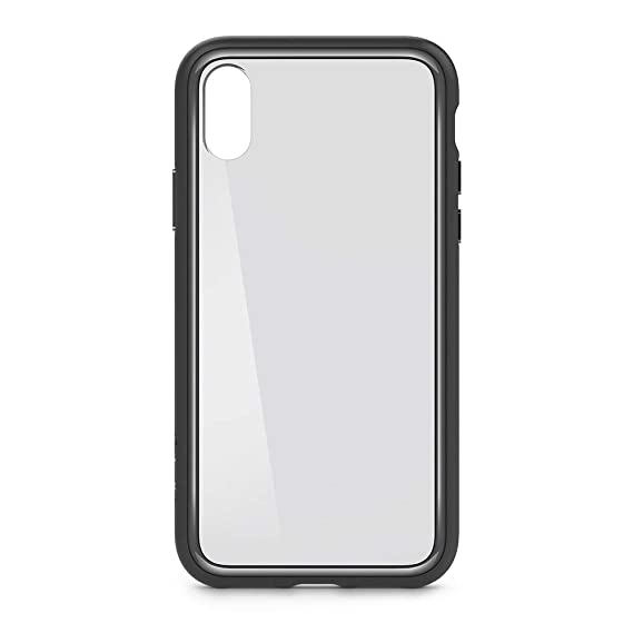 detailed look eef3d 01035 Belkin SheerForce Elite Protective Case for iPhone X (Space Gray)