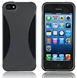 Splash VAPOR Slim Fit Flex Case for iPhone 5 - BLACK