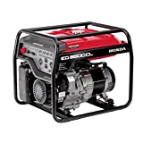 Honda Power Equipment EG6500CLAT 655690 6,500W Portable Generator with DAVR Technology CARB, Steel