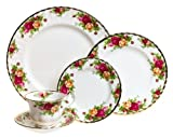Royal Albert Old Country Roses 5-Piece Place Setting, Service for 1