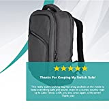 Nintendo Switch Backpack and Travel Bag - Holds Nintendo Switch, Joycons, Accessories and More