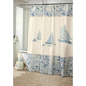 51QPQjjkYpL._SS300_ 200+ Beach Shower Curtains and Nautical Shower Curtains