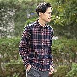 シップス(メンズ)(SHIPS) SC: フェザー チェック レギュラーカラー ネルシャツ2