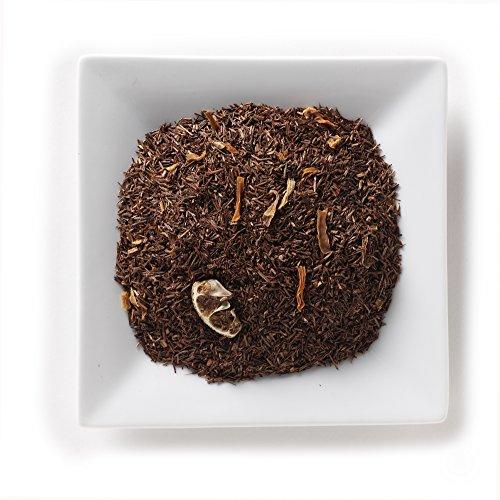 Mahamosa Rooibos Herbal Tea and Tea Filter Set: 8 oz Orange Marzipan Rooibos (Red Bush) Tea, 100 Loose Leaf Tea Filters (Bundle- 2 items)(Tea ingredients: Rooibos tea, carrots shreds, orange slices, flavoring) -