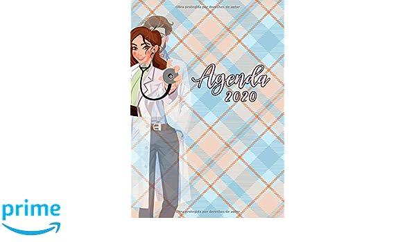 Agenda 2020: Tema Medicina Doctor Enfermera Agenda Mensual y ...