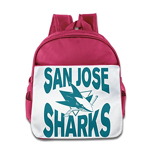 [HYRONE San Jose Logo Sharks Kids Shoulders Bag For 1-6 Years Old Pink] (Baby Ruth Costume)