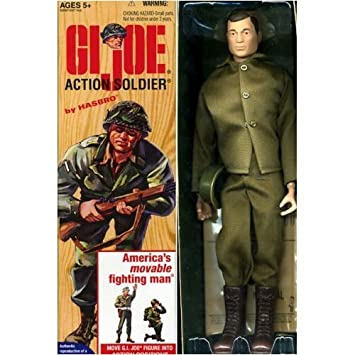 GI Joe Ann Action Marine Box