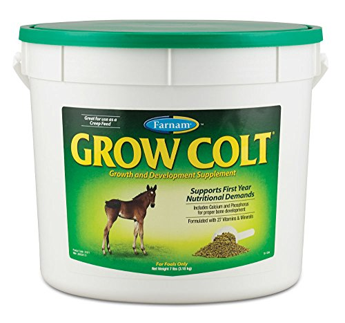 - Farnam Grow Colt Growth and Development Supplement, 7 lbs