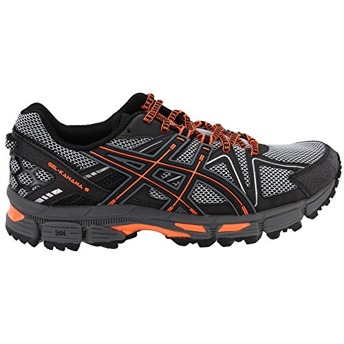 ASICS Mens Gel-Kahana 8 Running Shoe Black/Hot Orange/Carbon 7 Medium US by ASICS (Image #1)