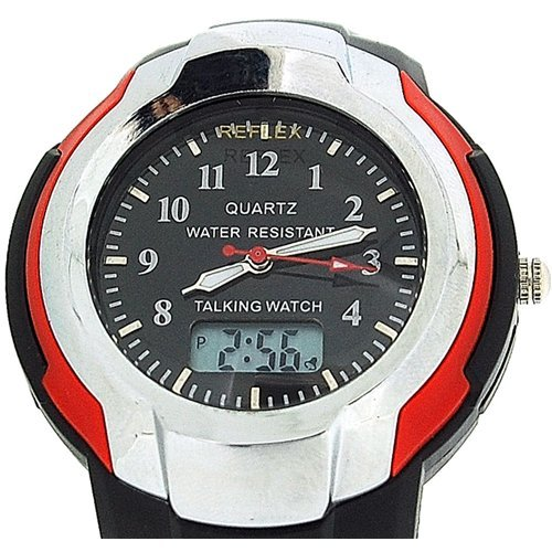 Ana Digi Display - Reflex - Mens Ana/Digi Multi Function Talking Watch-Dual Display-Blind/Partially Sighted
