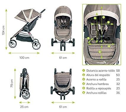 schwarz Baby Jogger BJ11410 City Mini 3 Rad