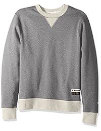 Champion Mens Authentic Originals Sueded Fleece Sweatshirt