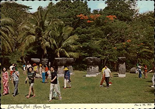 Latte Stone Park Agana, Guam Original Vintage ()