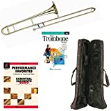 Play Trombone Today Deluxe Pack - Includes Bb Tenor Trombone, Self-Teaching Method DVD & Essential Elements Performance Favorites Book