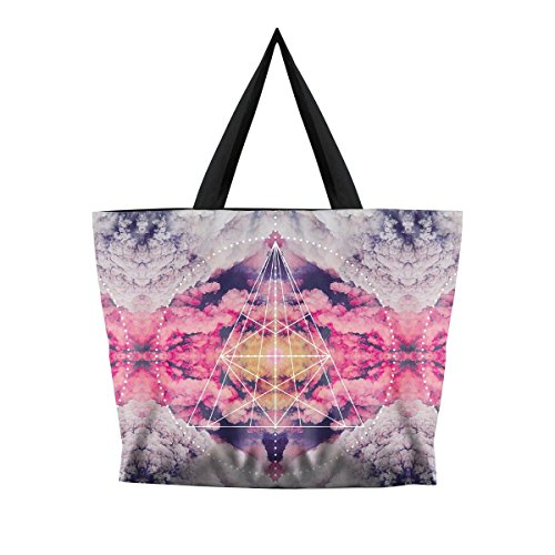 Pattern Print Casual Shoulder Handbags Fashion Digital Bags Creative Lovelife' 10 Multiple zxwaqgHO
