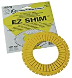 SPC Performance 75600 Dual Angle Camber/Toe Shim, Yellow