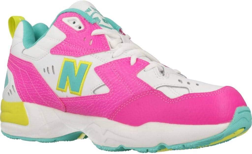 Artù grado Duchessa  Amazon.com: New Balance 608 Womens Sneakers Pink: Sports & Outdoors